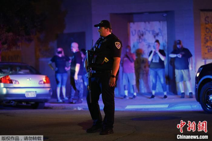 美威州示威骚乱致2死1伤 特朗普派国民警卫队支援