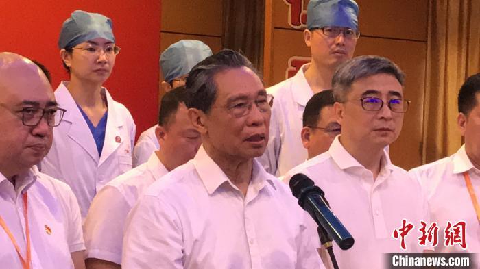 钟南山:新冠肺炎患者康复后二次感染为个别现象