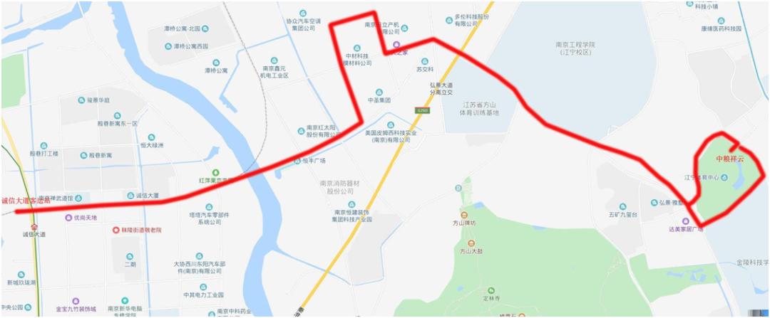 江宁公交线路,上新啦!