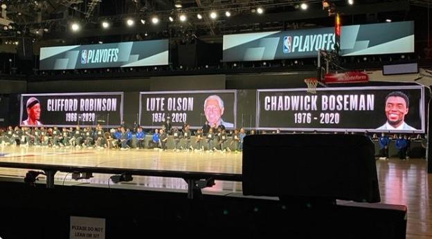 """NBA""""铁人""""罗宾逊离世,开拓者赛前悼念他和""""黑豹"""""""