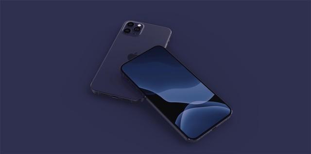 苹果iPhone 12系列深蓝色版本效果图曝光