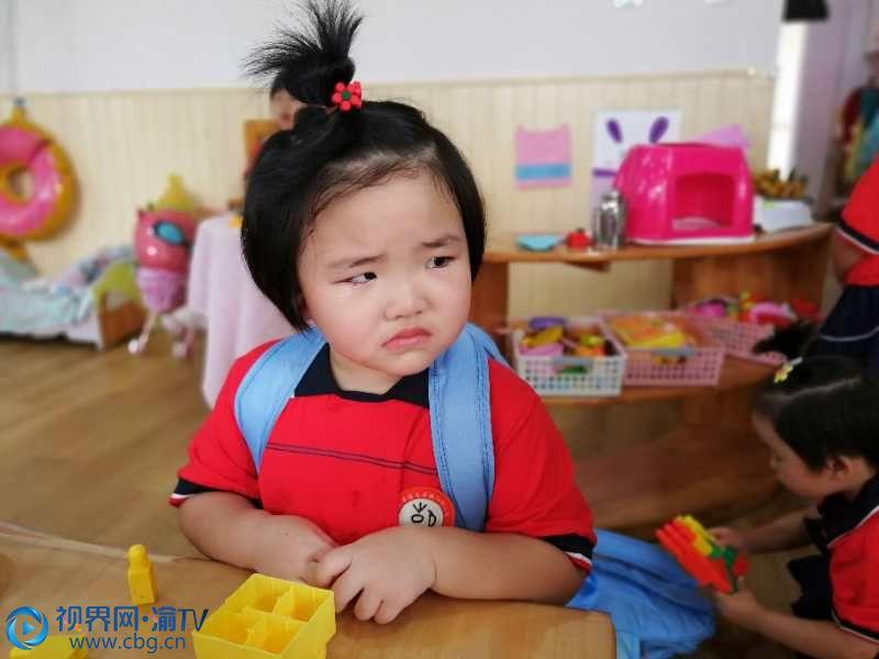 """幼儿园开学第一天 听取""""哇""""声一片"""