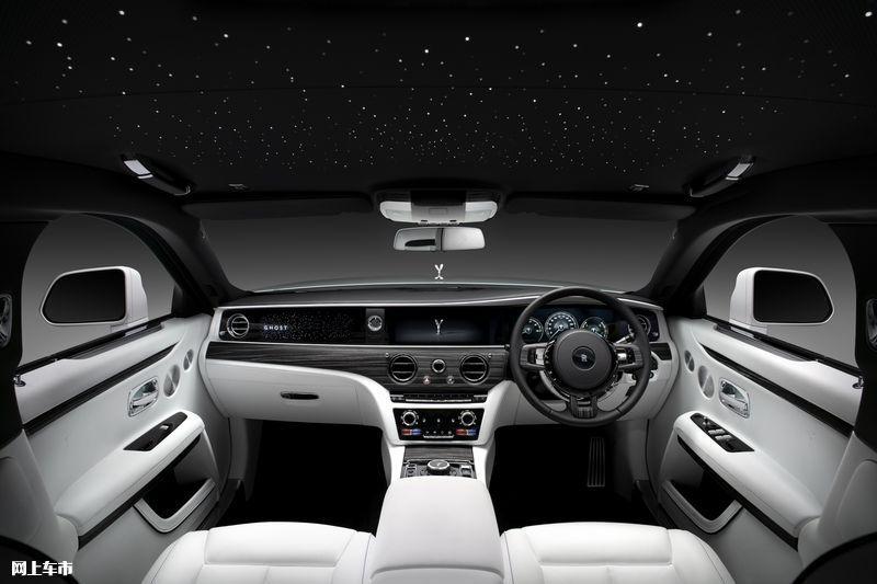 劳斯莱斯全新古思特 尺寸超迈巴赫,驾乘舒适性提升,搭6.75T V12