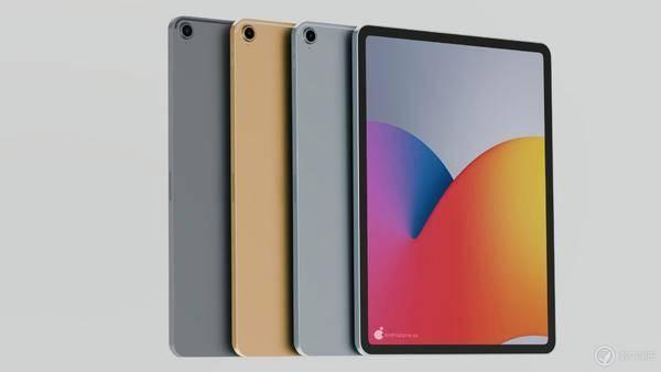 iPad Air 4 渲染图曝光:超窄边框设计