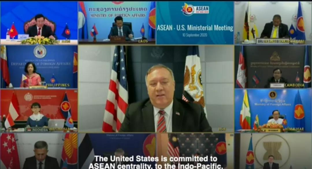 """美国对东盟是""""帮忙""""还是添乱 东盟国家很清醒"""