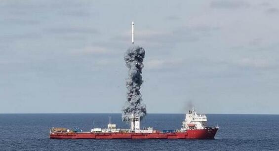 """海上升""""利箭""""!三大優勢保障衛星發射成功"""