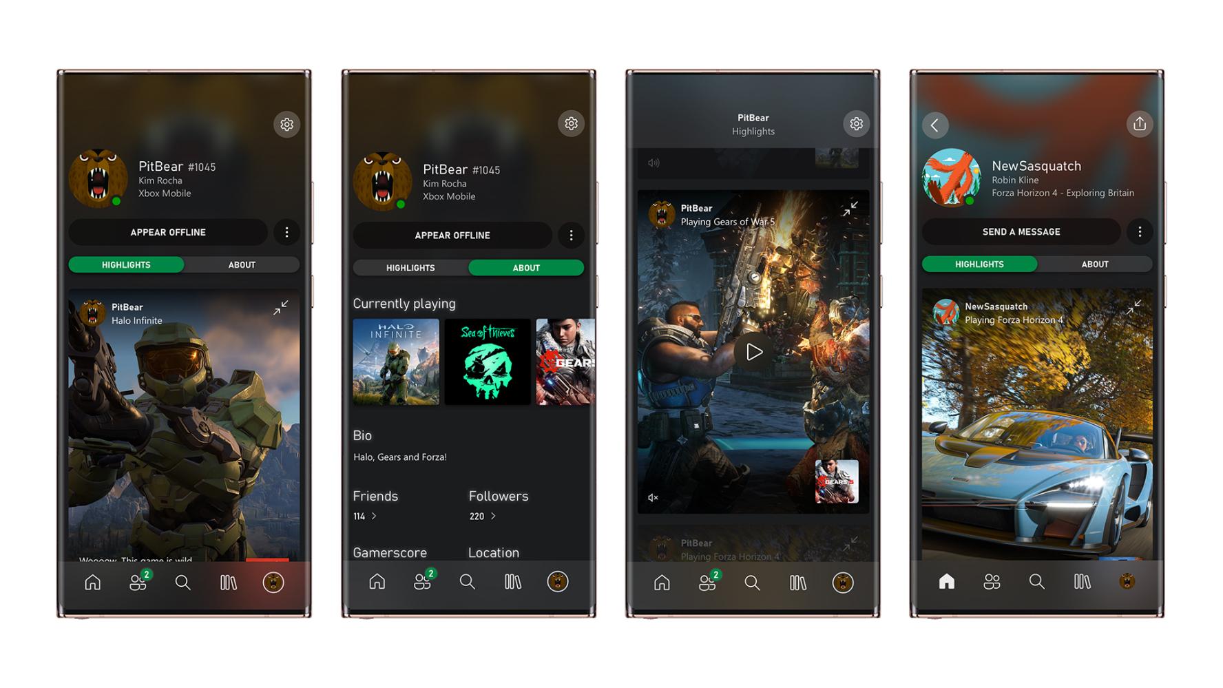 新版Xbox App上架,統一新設計和更多實用功能