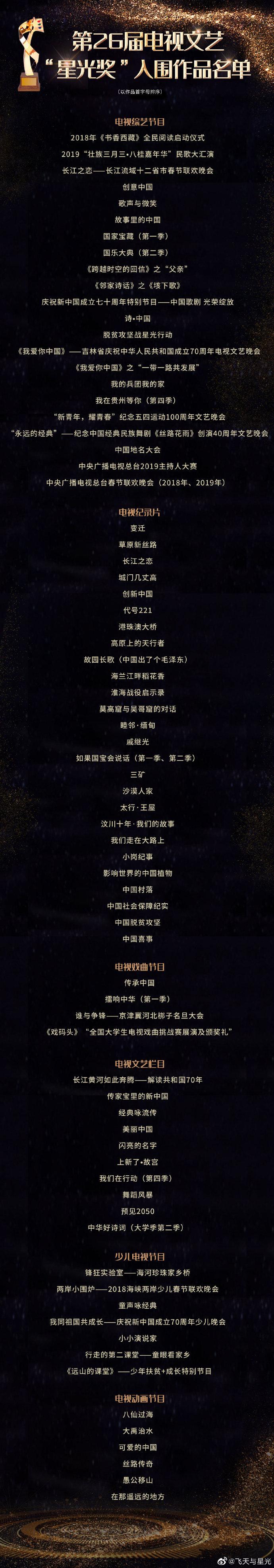 """""""飞天奖""""和""""星光奖""""颁奖典礼28日将在河北衡水举行"""