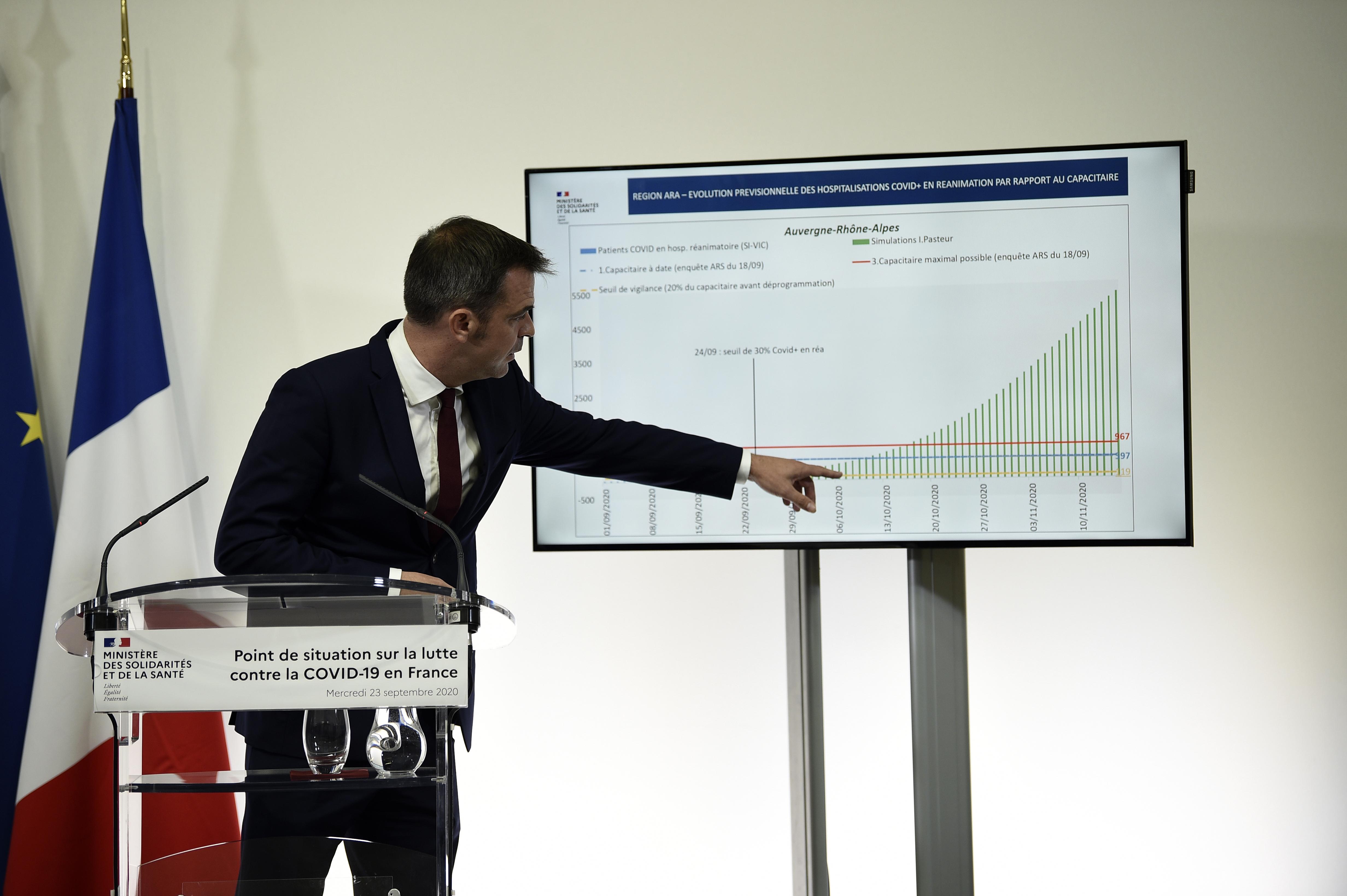 疫情持续恶化 法国宣布更多应对措施