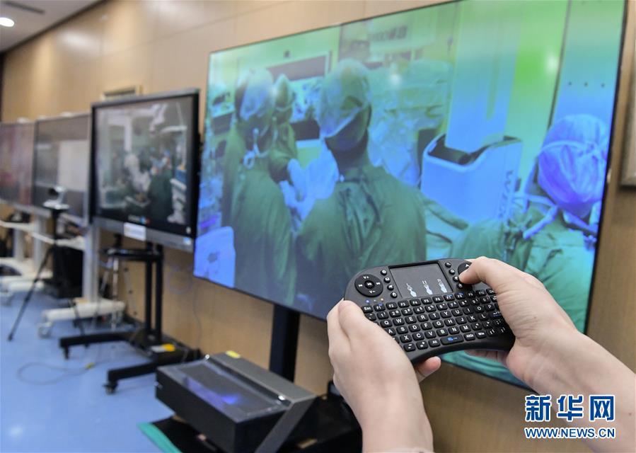 青岛大学附属医院完成一例5G超远程泌尿外科手术