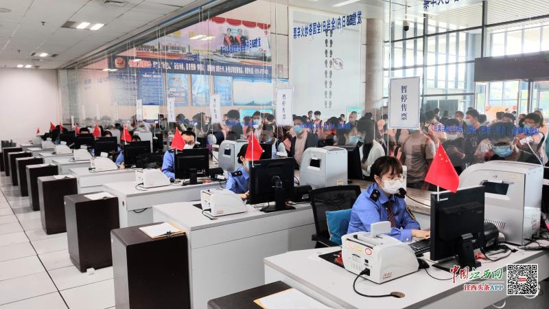 客流趋平缓 南鐵預計發送旅客68萬人次