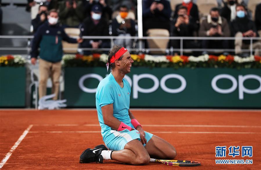 法网男单决赛:纳达尔夺冠
