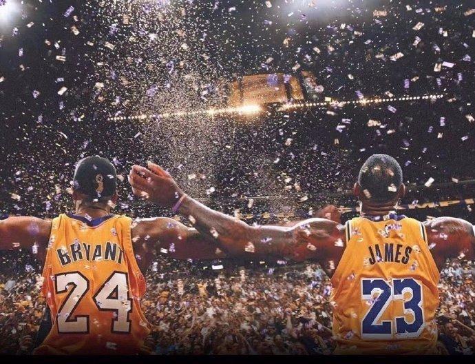 湖人时隔10年加冕NBA总冠军,詹皇兑现了给科比的承诺