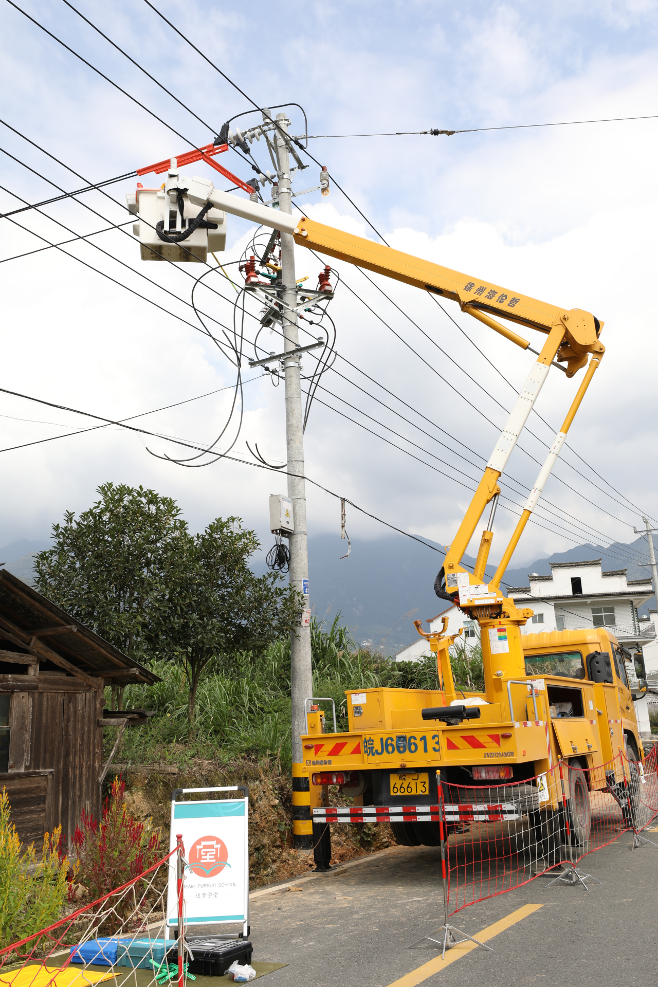 祁门在全省率先开展原水电供区大面积停电应急演练