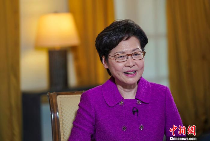 林鄭月娥:教育、醫療及更多中央惠港政策有望納入《施政報告》