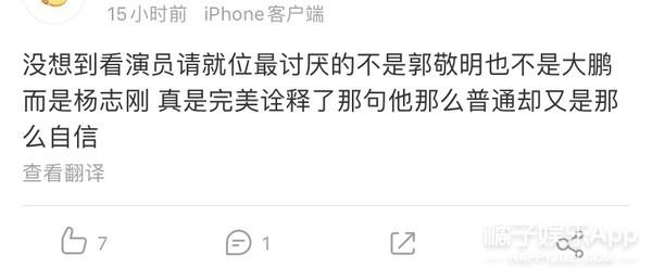 杨志刚演技被质疑却姿态傲慢,直言综艺是游戏?凭啥这么迷之自信