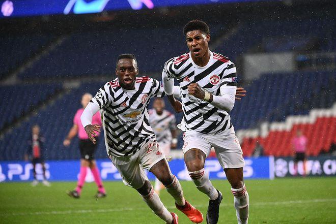 欧冠-拉师傅绝杀马夏尔造点+乌龙 曼联客场2-1巴黎