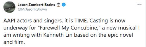美国百老汇要改编《霸王别姬》,中国观众淡定不了了…