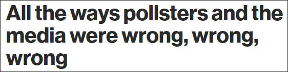 """美民调预测拜登轻松躺赢,被批""""一错再错"""""""