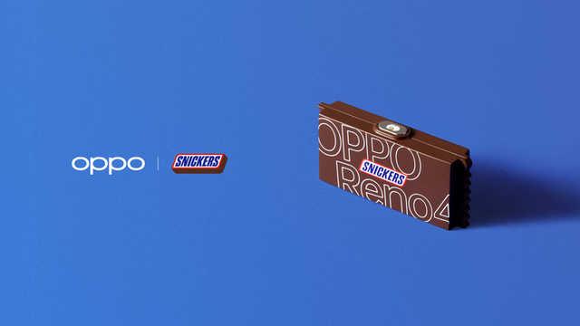 没电了再来一个65W非常快速充电,OPPO x 德芙巧克力超能跨界营销