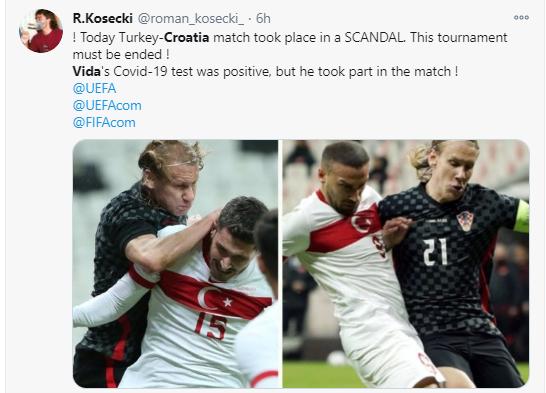 国家队比赛打到了一半,队长突然被告知自己新冠阳性