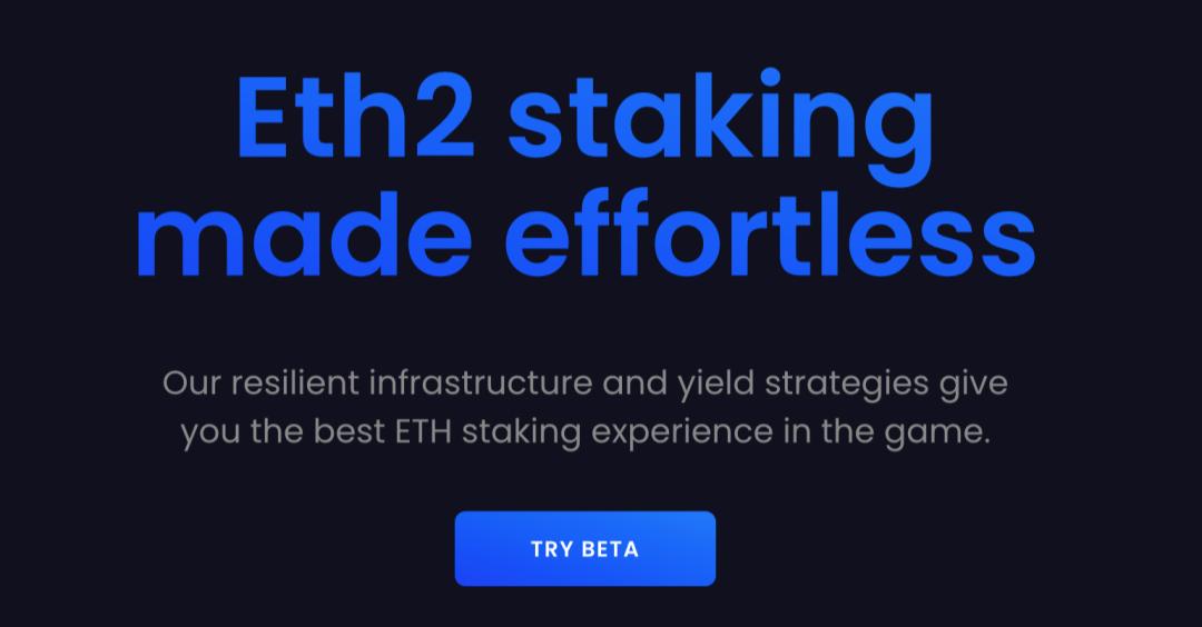 ETH2.0Staking,如何「不搭节点、不锁仓、任意数量」参与?