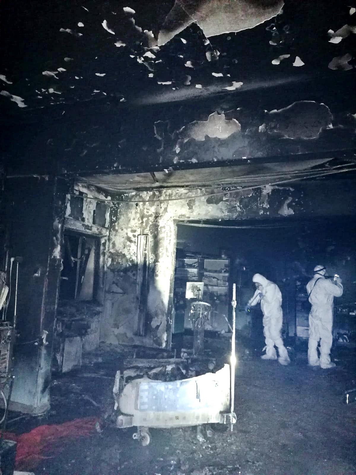 罗马尼亚新冠定点医院重症病房着火10人死亡