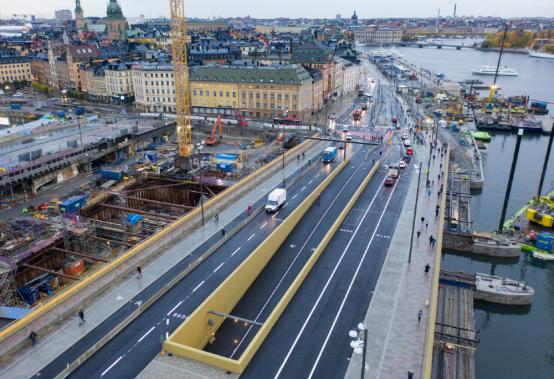 中国制造铸造瑞典首都新地标