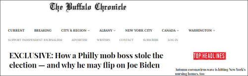 """民主党雇佣黑手党""""定做选票""""拿下宾州?美媒齐呼:假新闻"""