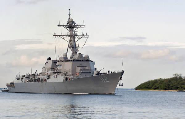 美海军一驱逐舰近1/4船员确诊新冠肺炎