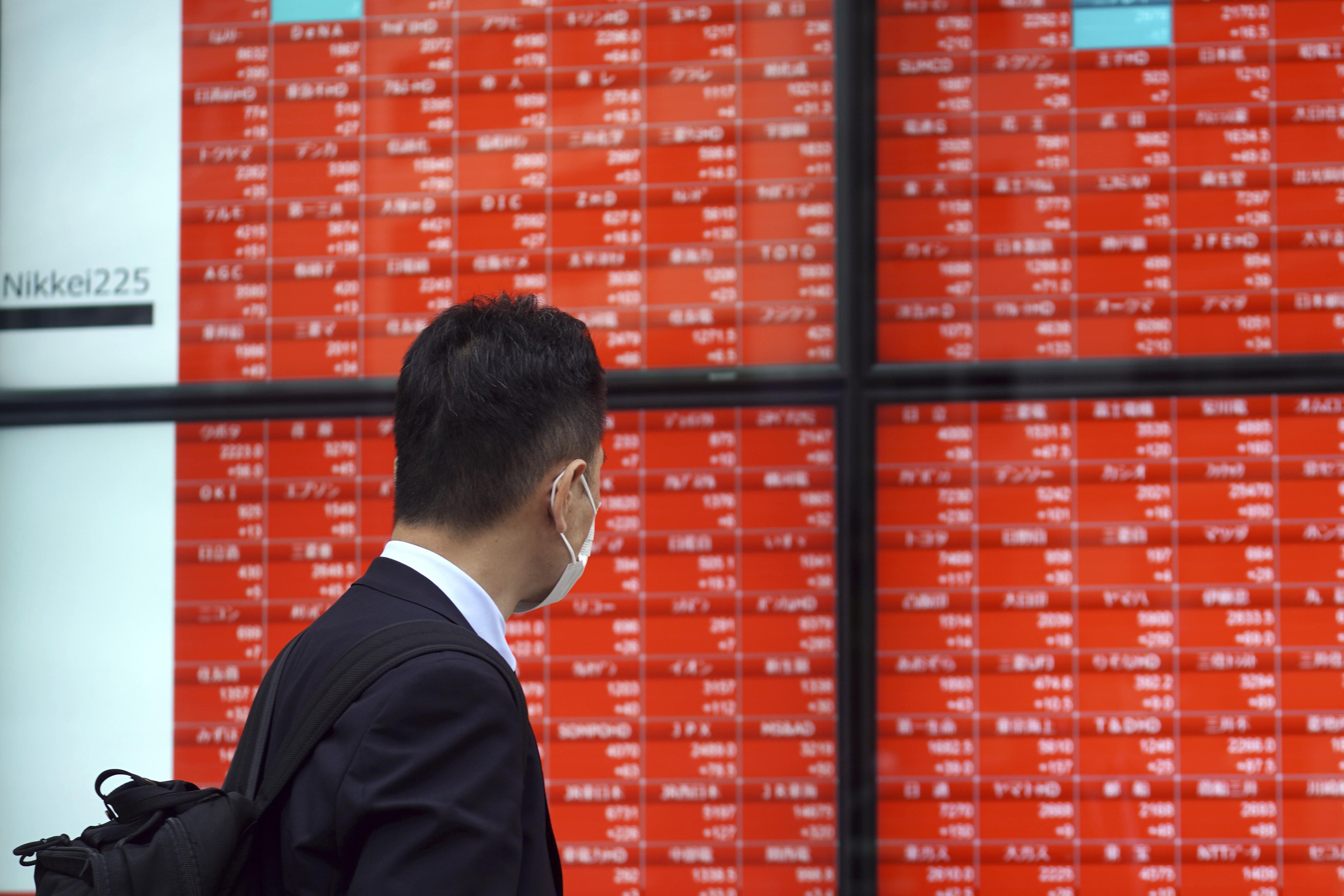 东京股市大幅上涨