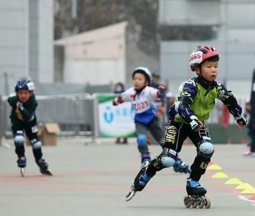 陕西省青少年体育俱乐部轮滑联赛开赛