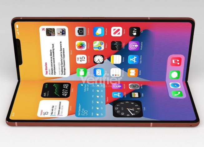 苹果看准时机要出手了?!折叠屏iPhone正在加速推进中 售价2万起步