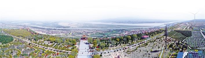 山河一览壮关中——岳渎阁与鹳雀楼