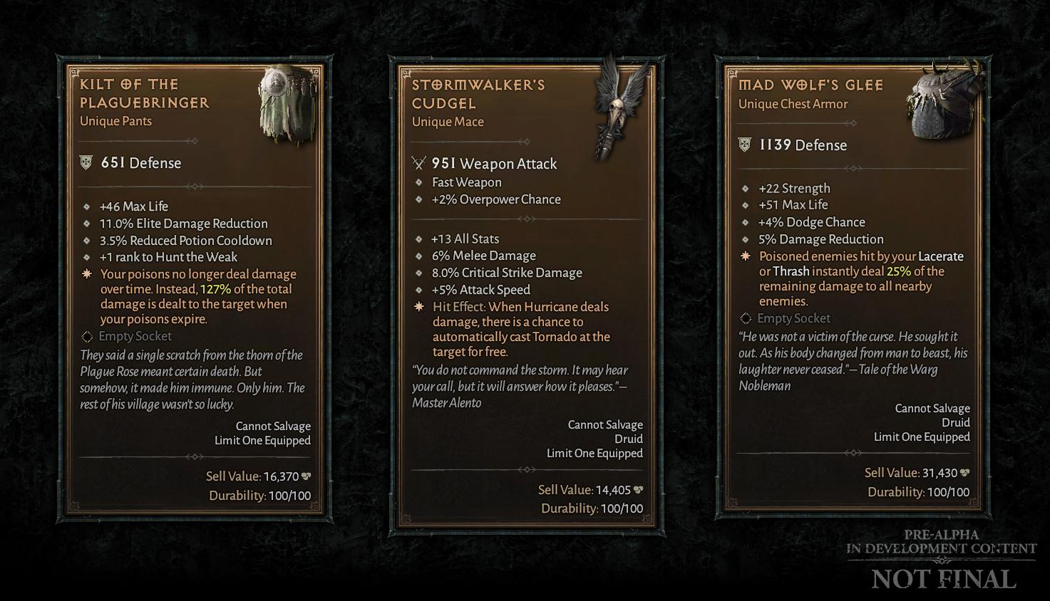 暴雪带来《暗黑破坏神4》季度开发更新 更深度的职业自定义