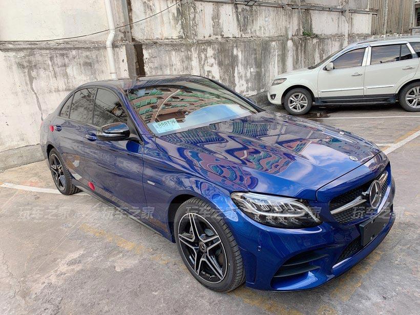 奔驰C260星耀臻藏版改装作业 外观内饰升级颜值更高