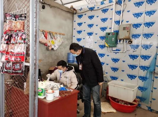成都经开区龙泉驿区市场监管局查获两起冷链食品违法案件