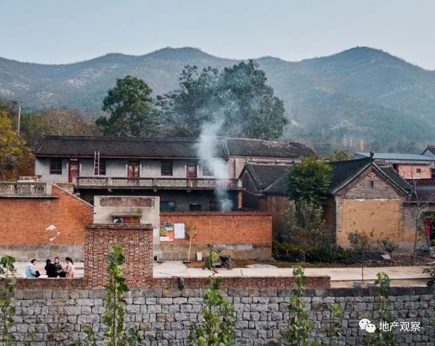 这个爆红的北方小县,乡村建筑竟然超越了大多数开发商