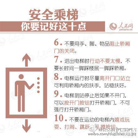 惊险!电梯骤降23层女子教科书式逃生躲过一劫,若遇电梯骤降这些必学