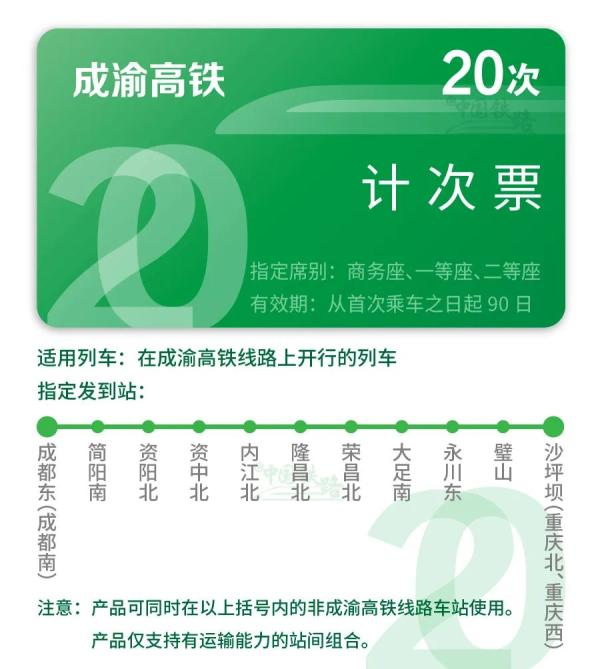 今天起,京沪高铁试行推出计次票、定期票