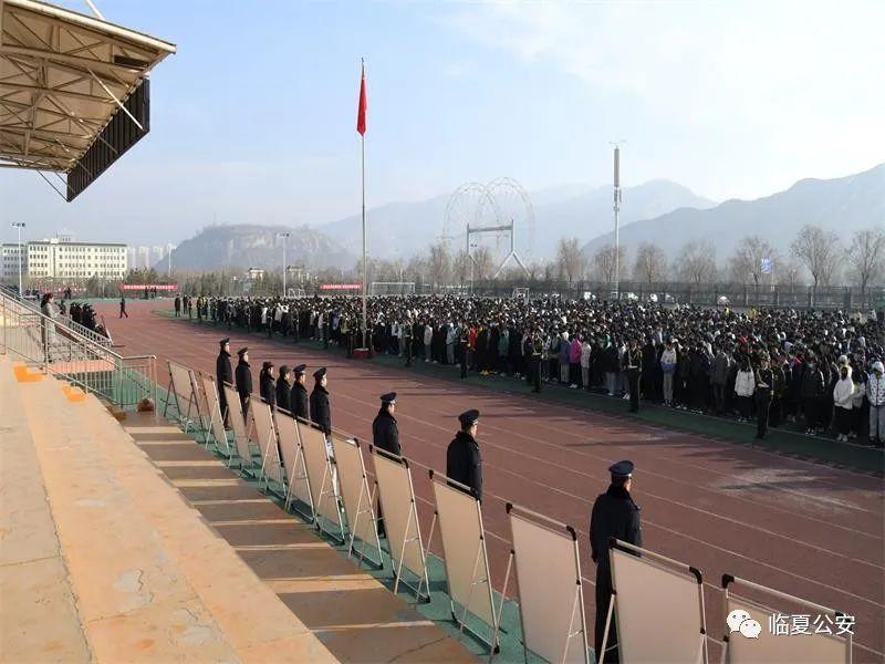 """临夏州举办""""反恐怖宣传教育""""活动 启动仪式"""