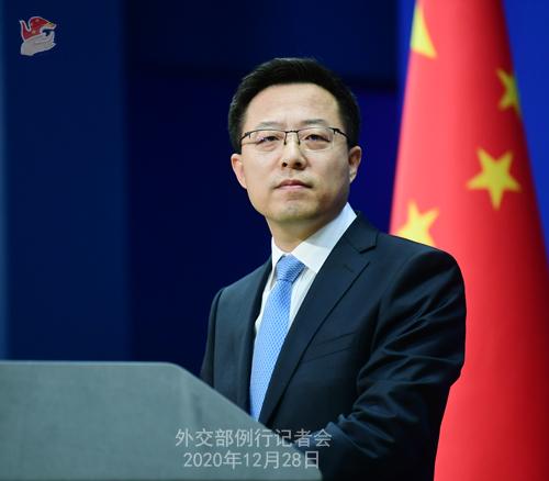 外交部就中国疫苗是否可靠、中国扩大对外开放等答问