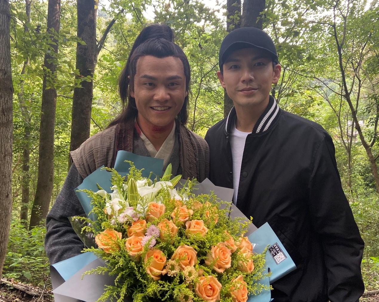 """电视剧《锦心似玉》演员释臣伟化身""""海盗""""刘勇"""