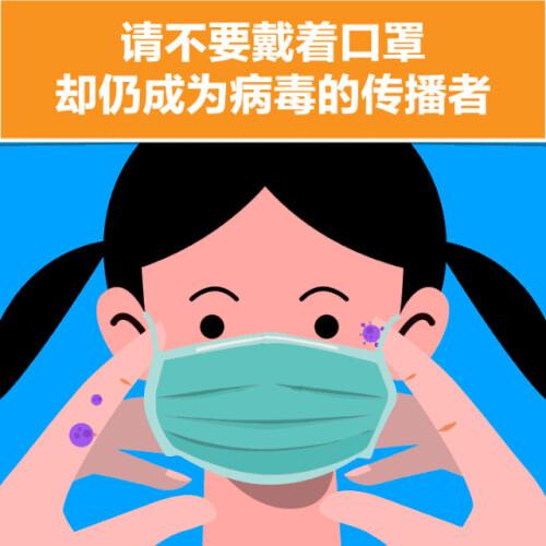重要提醒!仅戴口罩防不住新冠病毒