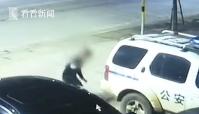 胆大!为逃避执法两男子给警车装定位器 结果悲剧了……