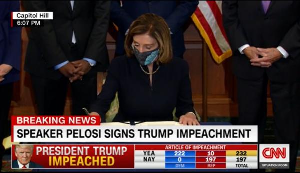 史上首位!特朗普遭第二次弹劾