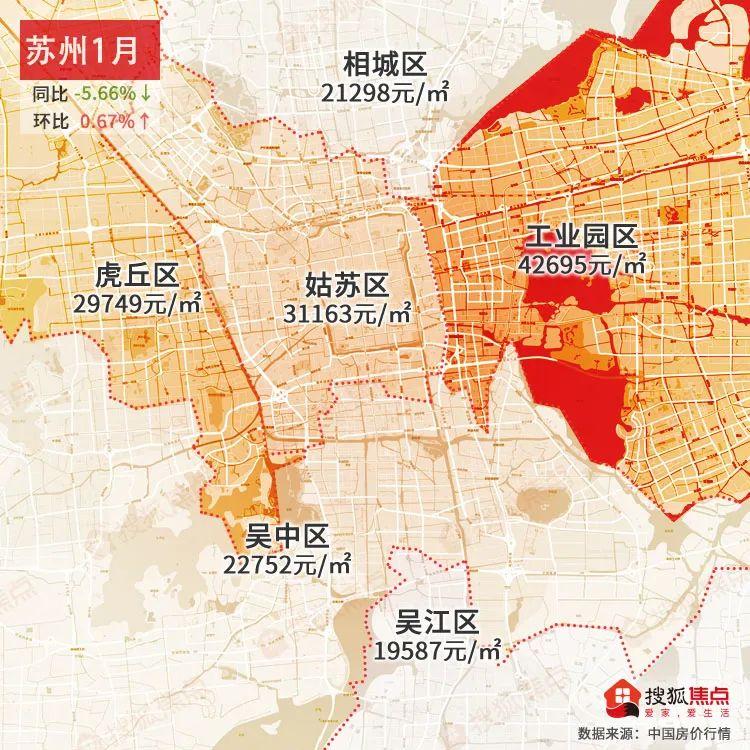 全国房价整体上涨?2021年1月热门城市房价地图重磅来袭
