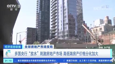 众多央行放水,点燃了房地产市场高端和低端房地产的价格分化