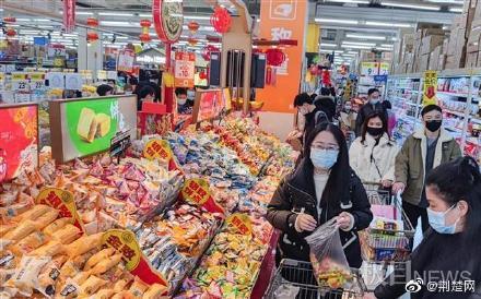 春节将至武汉年味浓