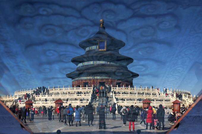 春节期间,发布了北京十大景点